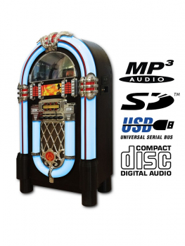 Musikbox 105 cm CD/Radio/USB/SD/iPod/iPhone/Aux